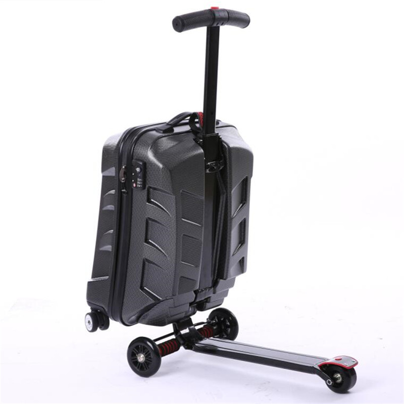 Transformers luggage slide luggage