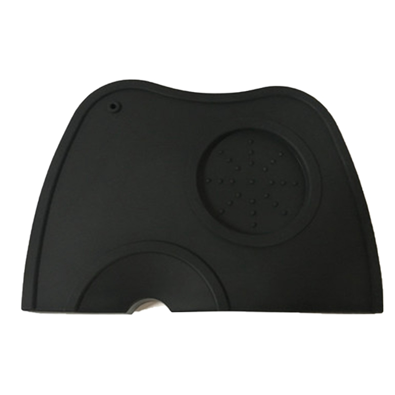 Espresso anti tamper pad rubber irregular holder pressed powder