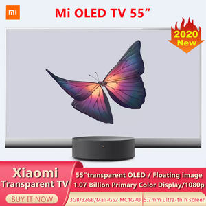 Xiaomi Transparent TV 55 Inchs OLED Artificial Intelligence 5.7mm Ultra-thin Screen Support Bluetooth 5.0 Dolby Atmos Smart TV