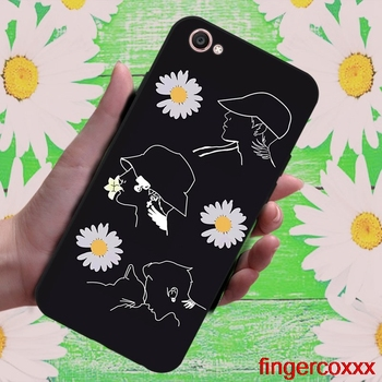 Coxxx Daisy 1 Soft TPU Case Cover For Vivo Y71 Y83 Y81 Y51 Y93 Y97 Y91 Y95 V11i Z3i Z3 X21UD Z5X X27 V15 S1 Pro image