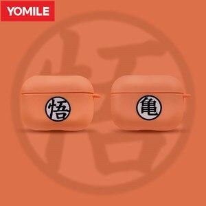 Image 1 - Аниме Dragon Ball Wukong чехол для наушников Apple AirPods 2 3 мягкий силиконовый чехол Защита Bluetooth Air Pods Pro Аксессуары