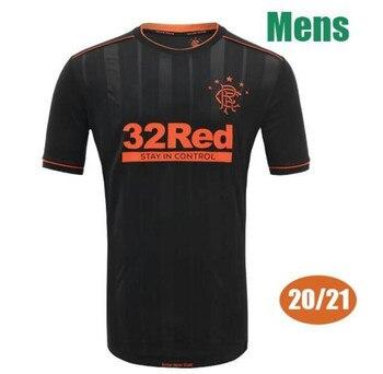 20/21 Glasgow Rangers Soccer jersey 2020 Glasgow Rangers Home blue Morelos Dorrans Soccer shirts TAVERNIER DAVIS KENT Away Footb joan baez glasgow