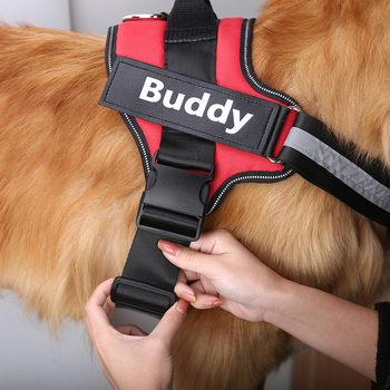 SUPER COMFORTABLE ID Custom Dog Harness 17