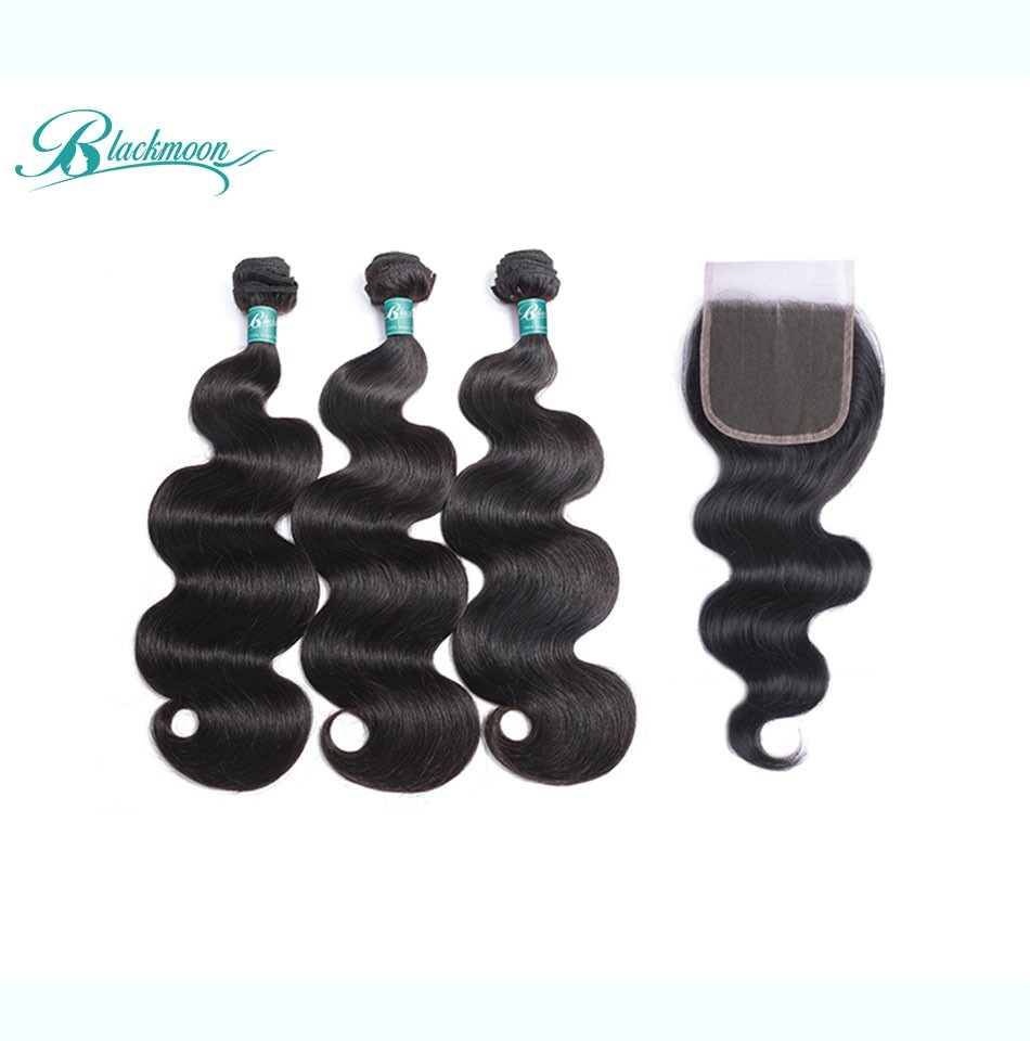 body wave bundles with closure-3+4_04