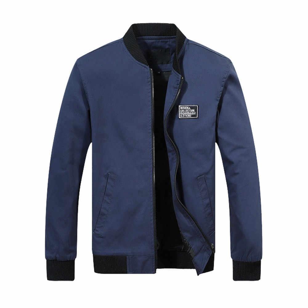 Erkek ceket Ve Mont Yeni Moda Kış sıcak Ceket Palto Dış Giyim Ince Uzun Siper Ceket Ceketler Fermuar Parka Erkekler