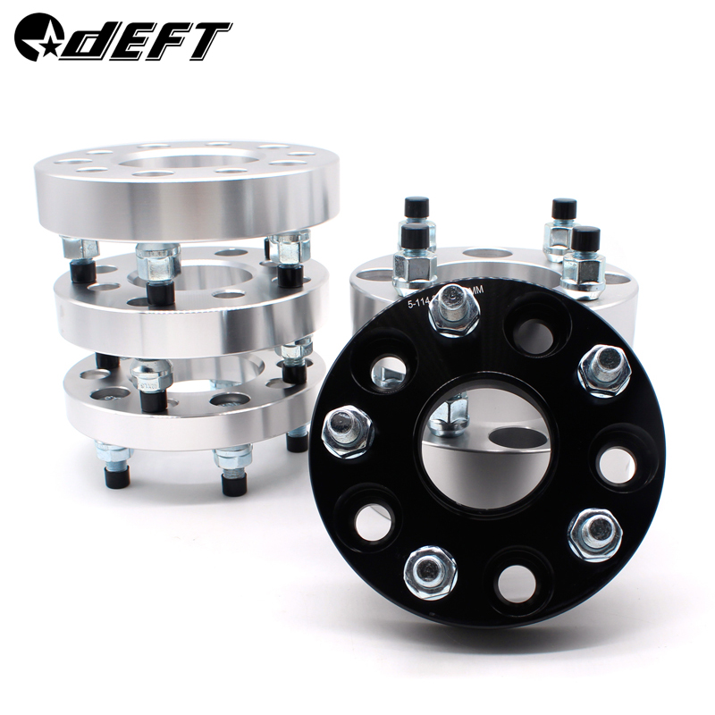 DEFT 5x100 15 20 25 30mm Hubcentric 57.1mm Wheel Spacer Adapter 5 Lug Aluminum Wheel Spacer Suit For TOYOTA Crown GT2000 Prius