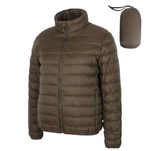 Image 2 - NewBang Matt Fabric Man Down Jackets Ultra Light Down Jacket Men Feather Lightweight Parka  Windproof Warm Coats
