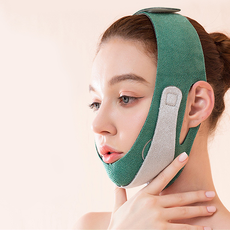 Graphene Chin Lift Face Mask Facelift Stickers Bandage Mask For Face Oval  Face Slimming Strap Anti Cellulite Strap Belt