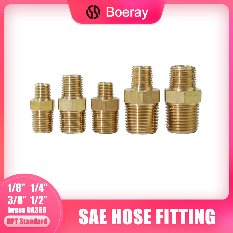 2pcs NPT Male Thread 1/8