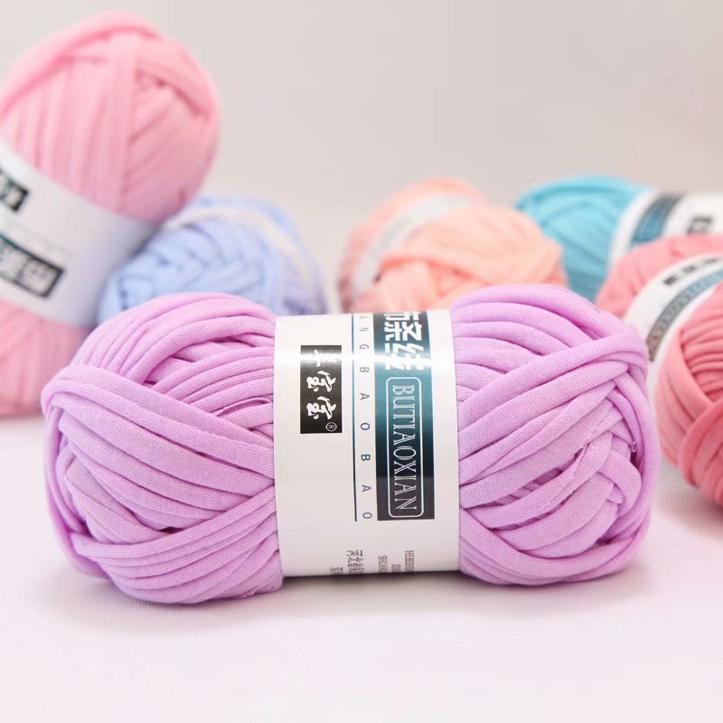 100g-Lot-Colored-Weaving-Thread-Yarn-Soft-Polyester-Woven-Bag-Carpet-DIY-Hand-knitted-Material