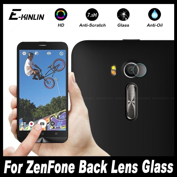 Back Camera Lens For ASUS ZenFone 6 3 GO TV Live ZB551KL ZB452KG ZB450KL ZB550KL A600CG ZB501KL Tempered Glass Protector Film