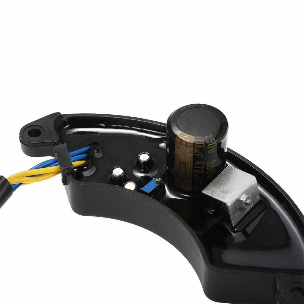 Régulateur de tension automatique AVR pour générateur d'essence monophasé 5KW 6.5KW pour générateur 7/7.5/8KW