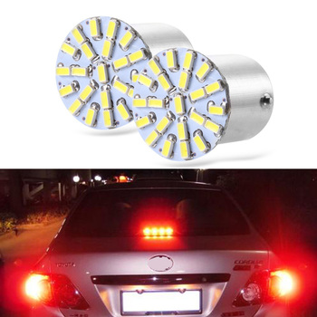 2Pcs Canbus Error Free 1156 BA15S P21W Led Bulb 1157  BAU15S PY21W Auto Lamp Car Rear Turn Signal Light Amber Red White 1156 bau15s py21w dual color white ice blue amber yellow switchback led turn signal light error free canbus with resistor drl