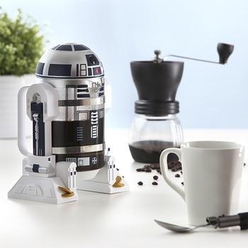 Star Wars R2D2 robot mini hand coffee machine insulation pot coffee pot Mocha law pot