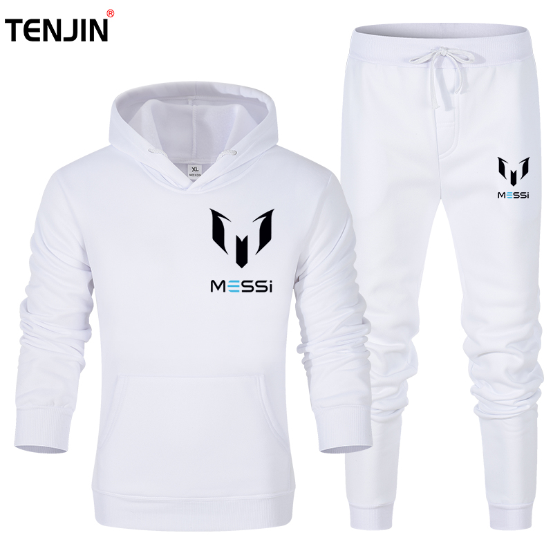 Brand Men's Sportswear Running Suits Basketball Soccer Training T Shirts + Pants Tracksuits Jersey Fitness Sportswear Gym Sets