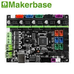 Placa de impressora 3d mks gen l controlador compatível com ramps1.4/mega2560 r3 suporte a4988/8825/tmc2208/tmc2100 drivers