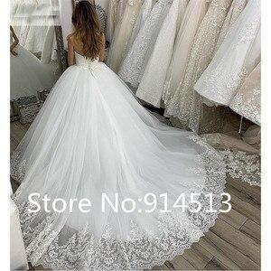 Image 2 - Vestido de Noiva Elegante Meerjungfrau Brautkleid Cap Sleeve Brautkleider Volle Spitze Appliques Nach Maß Braut Kleider