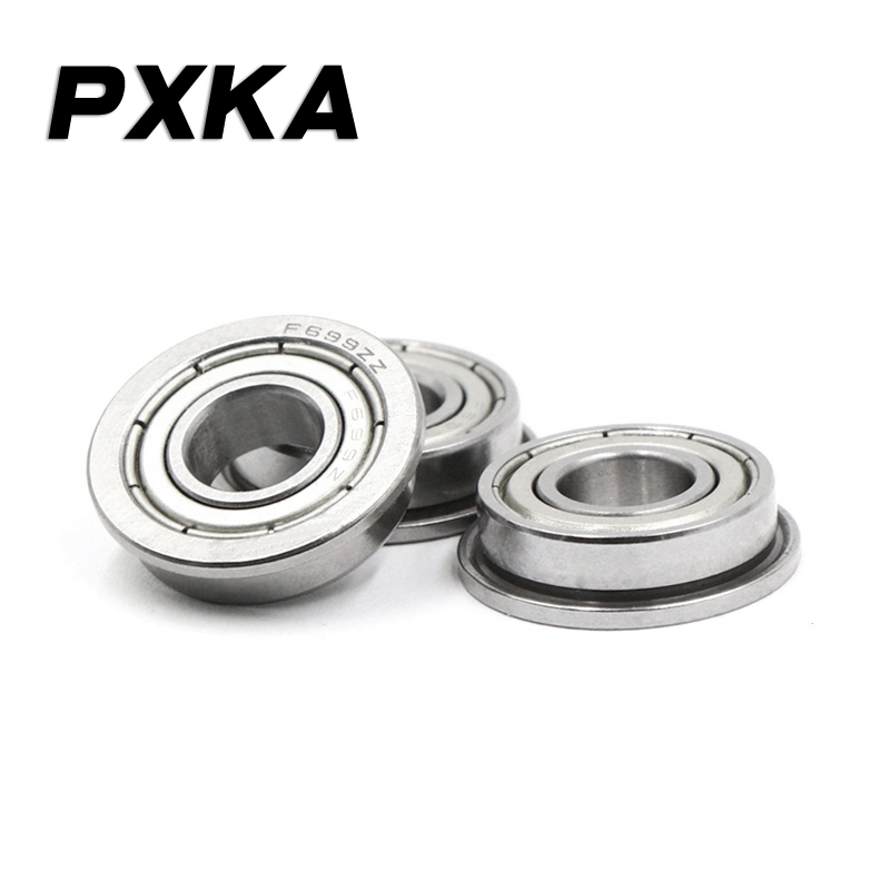 Free Shipping With Flange Flange Bearing MF63ZZ LF630ZZ F673ZZ 3*6*2.5 Mm, F695ZZ LF1350ZZ F695-2RS 5*13*4 Mm