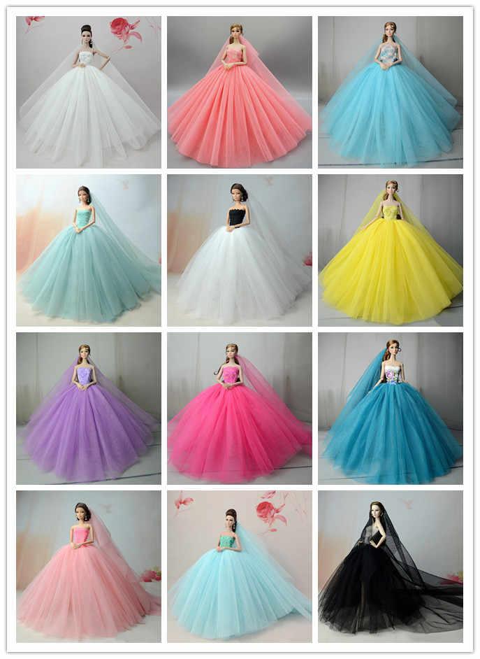 1/6 BJD Кукла одежда свадебное платье торжественное Красочное платье Игрушки для девочек SD игрушки для детей куклы ручной работы аксессуары BJD одежда