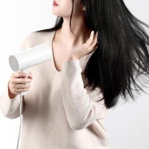 Image 3 - 1pc xiaomi youpin reepro 1300ワットプロのヘアドライヤー速乾性折りたたみハンドルヘアドライヤーRP HC04白高品質