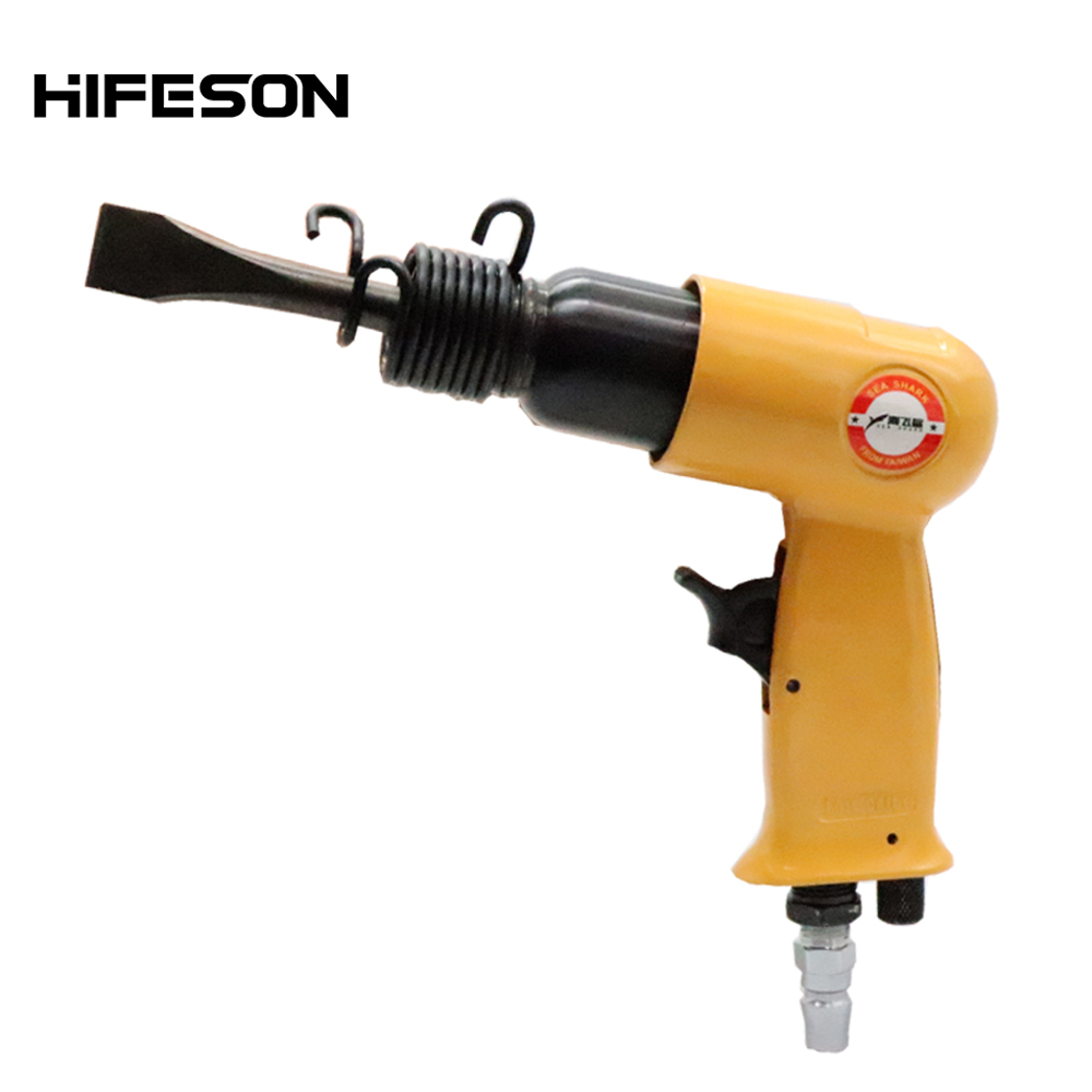 150mm Mini Air Shovel Gun With 4 Chisels Pneumatic Pistol Gas Hammer Handheld Rust Removel Tool