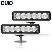 18w Светодиодный рабочий светильник 12v led пятно света Бар
