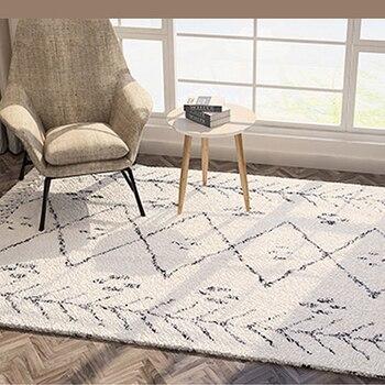 Marokko Stil Kelim Teppiche Für Wohnzimmer Türkei Geometrische Handgemachte Schlafzimmer Teppich Und Teppich Hause Weichen Nordic Teppiche Mit Quaste