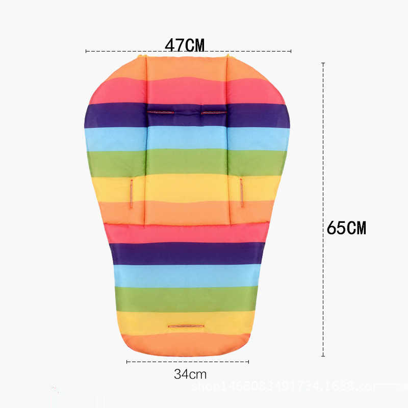 AAG Baby Accessories for Strollers Mattress Baby Stroller Pad Seat Cushion Newborn Baby Dining chair Stroller Mattress Mat