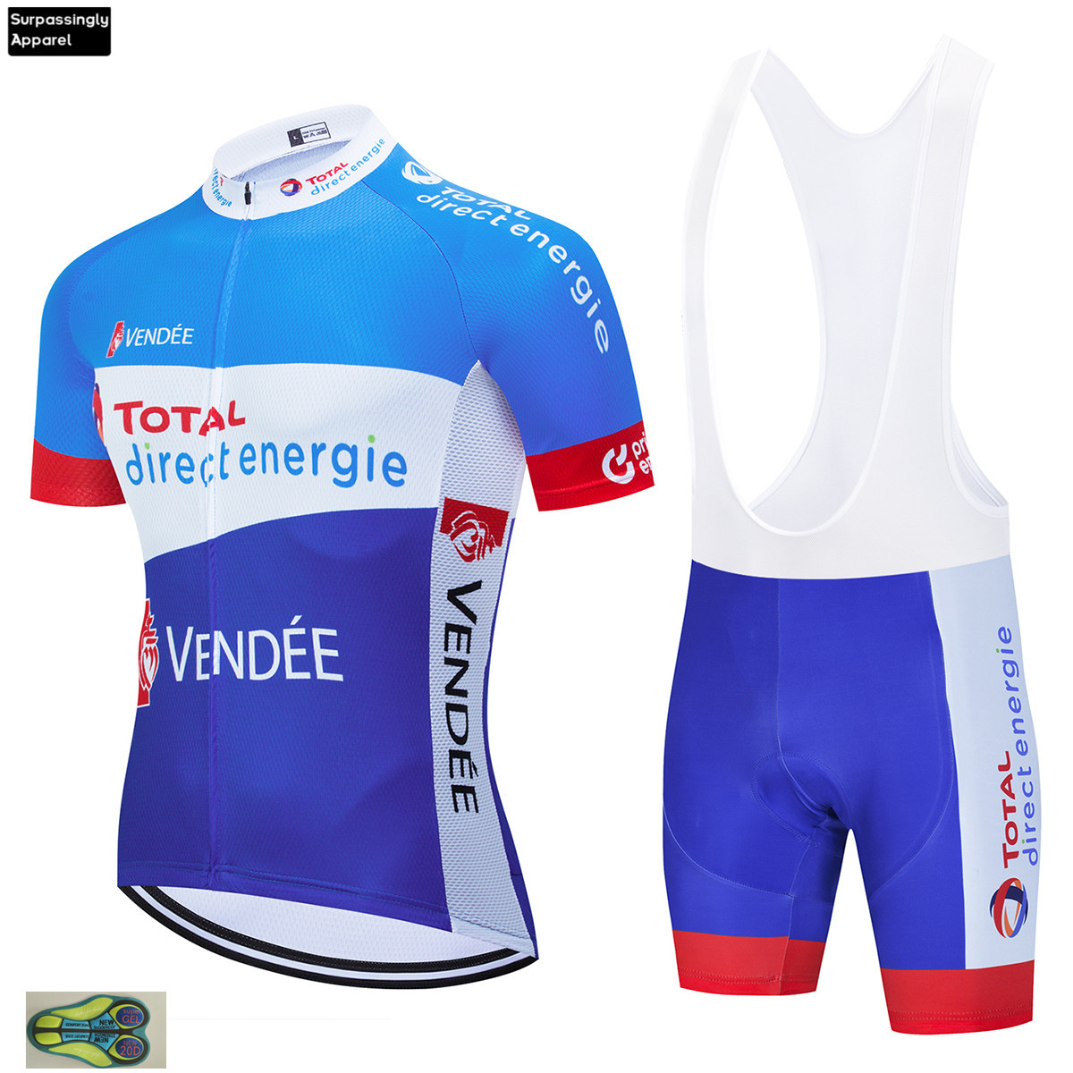 2020 Pro Total Direct Cycling Clothing Bike Jersey Quick Dry Bicycle Clothes Mens Summer Team Cycling Jersey 20D Bike Shorts Set|Cycling Sets| |  - title=