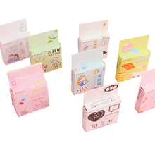 46pcs/pack Alice Message box Flower Mini Japanese Sticker pack Diy dariy Scrapbooking Cute Journal stickers