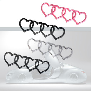 Image 4 - For Audi A3 A4 B8 A5 A6 A8 Q3 Q5 Q7 TT RS3 RS5 RS8 TIK Tok Rear Trunk Badge Emblem Replacement Styling Love Heart Decal Sticker