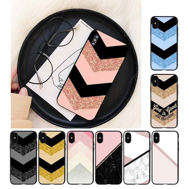 Yinuoda Chic Roze Marmer Pretty Phone Case Voor Iphone 11 8 7 6 6S Plus X Xs Max 5 5S Se 2020 Xr 11 Pro Cover