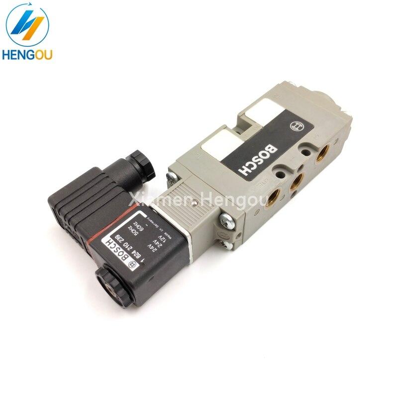 Hole 4mm Directional control Solenoid valve 98.184.1041 61.184.1041 M2.184.1051 M2.184.1171 original|Printer Parts| |  - title=