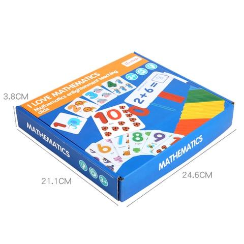 brinquedo de emparelhamento digital cartoes com contagem