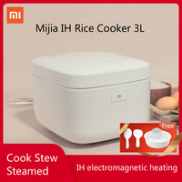 XIAOMI MIJIA IH Electric Rice Cooker 3L Electromagnetic surround heating slow crock pot lunch box multicooker