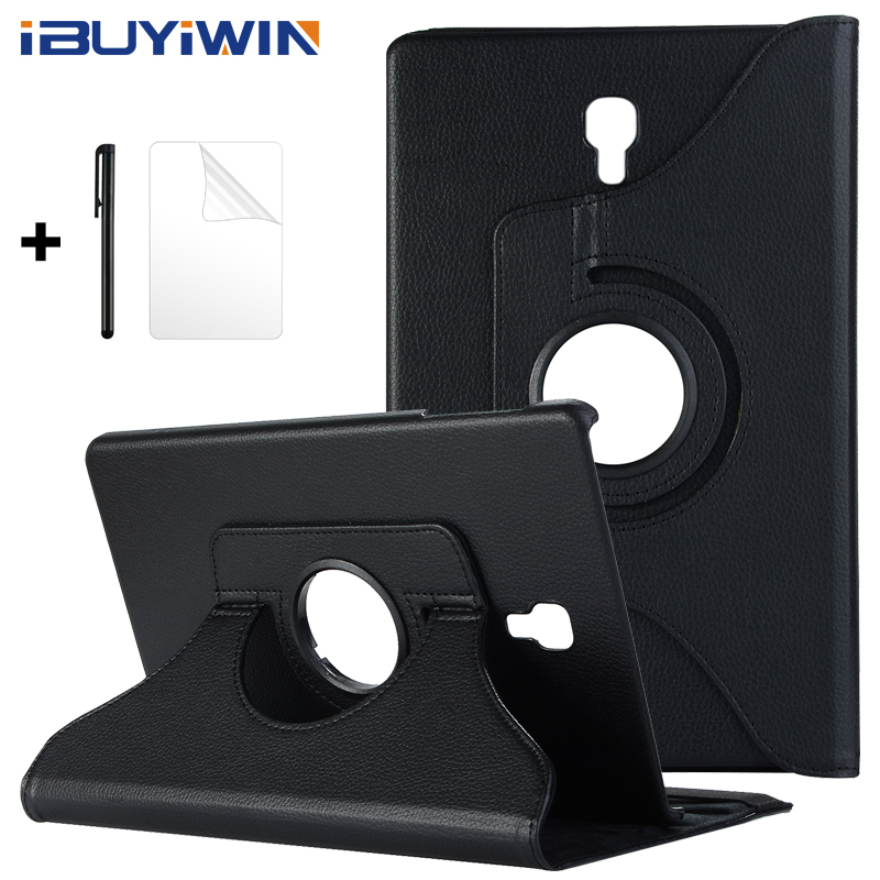 360 Rotating Cover Folio Flip Stand PU Leather Case For Samsung Galaxy Tab A A2 10.5 2018 T590 T595 SM-T590 SM-T595 Tablet Funda