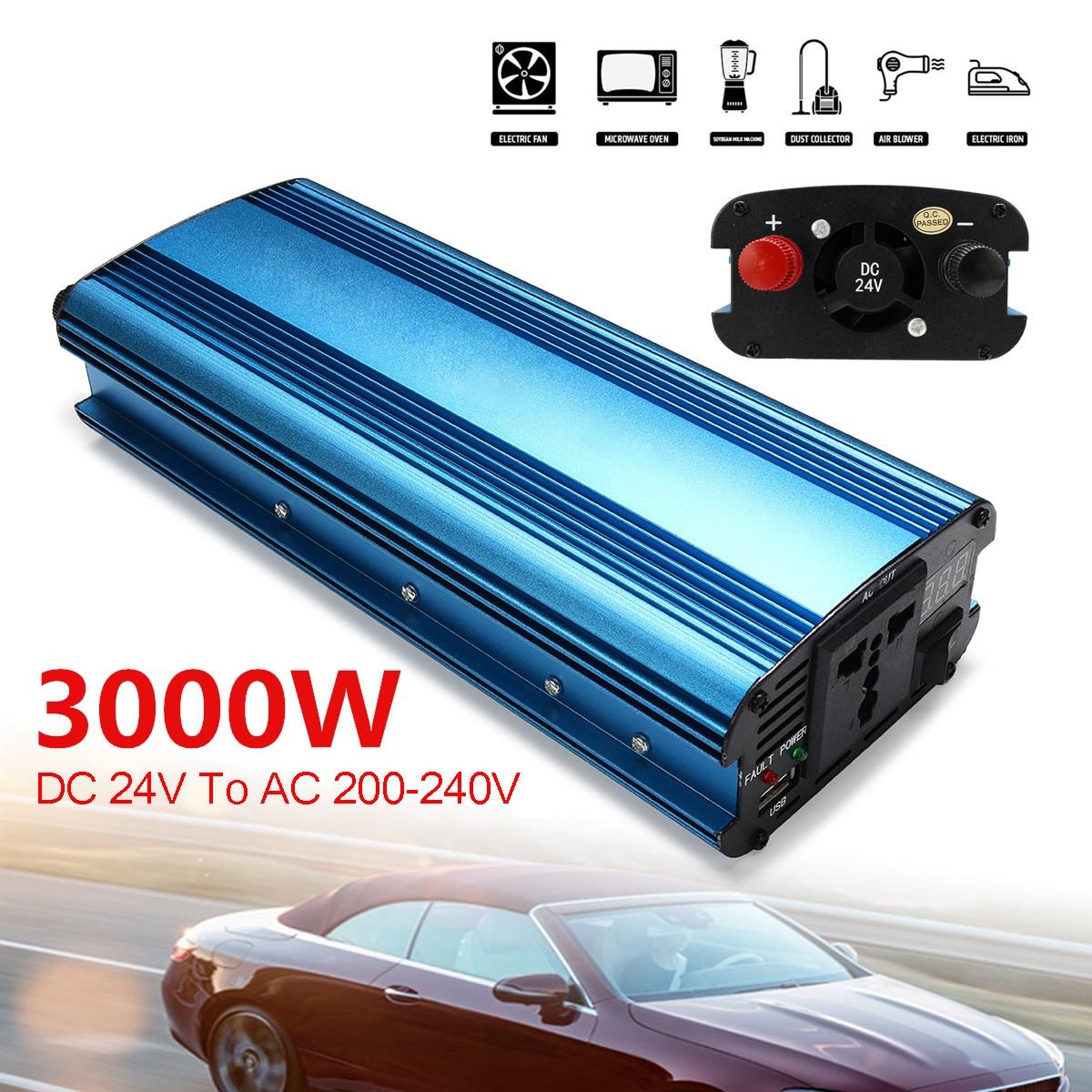 3000w inversor de energia solar do carro 04