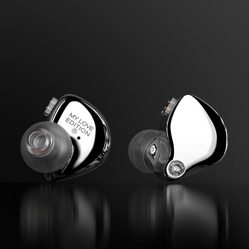 TFZ 2019 My Love Edition Monitor Noise Cancelling Earphones Hifi Wired Earbuds DJ Music Stereo Headse Detachable Cable