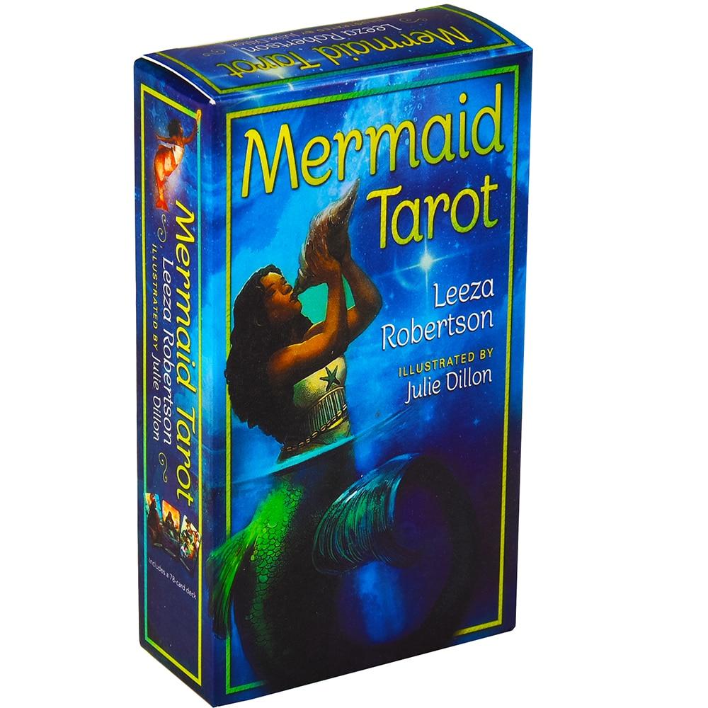 Mermaid Tarot Cards Oracles wróżbiarstwo deska pokładowa gry angielski na prezent rodzinny
