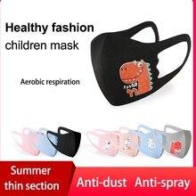 Breathable Masks Dinosaur Kawaii Mouth-Caps Protection Cycling Reuse Halloween Cosplay