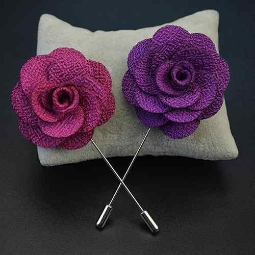 Coréen haute qualité fleur Broche tissu Art classique camélia Broche broches et broches femmes châle col de chemise accessoires