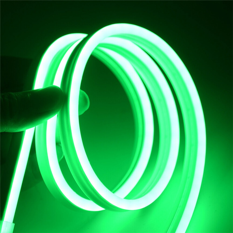 12V Neon Lights SMD2835 Flexible LED Strips Waterproof Neon Lights Silicone Tube 5M 4B Dance Party Car Decor Light