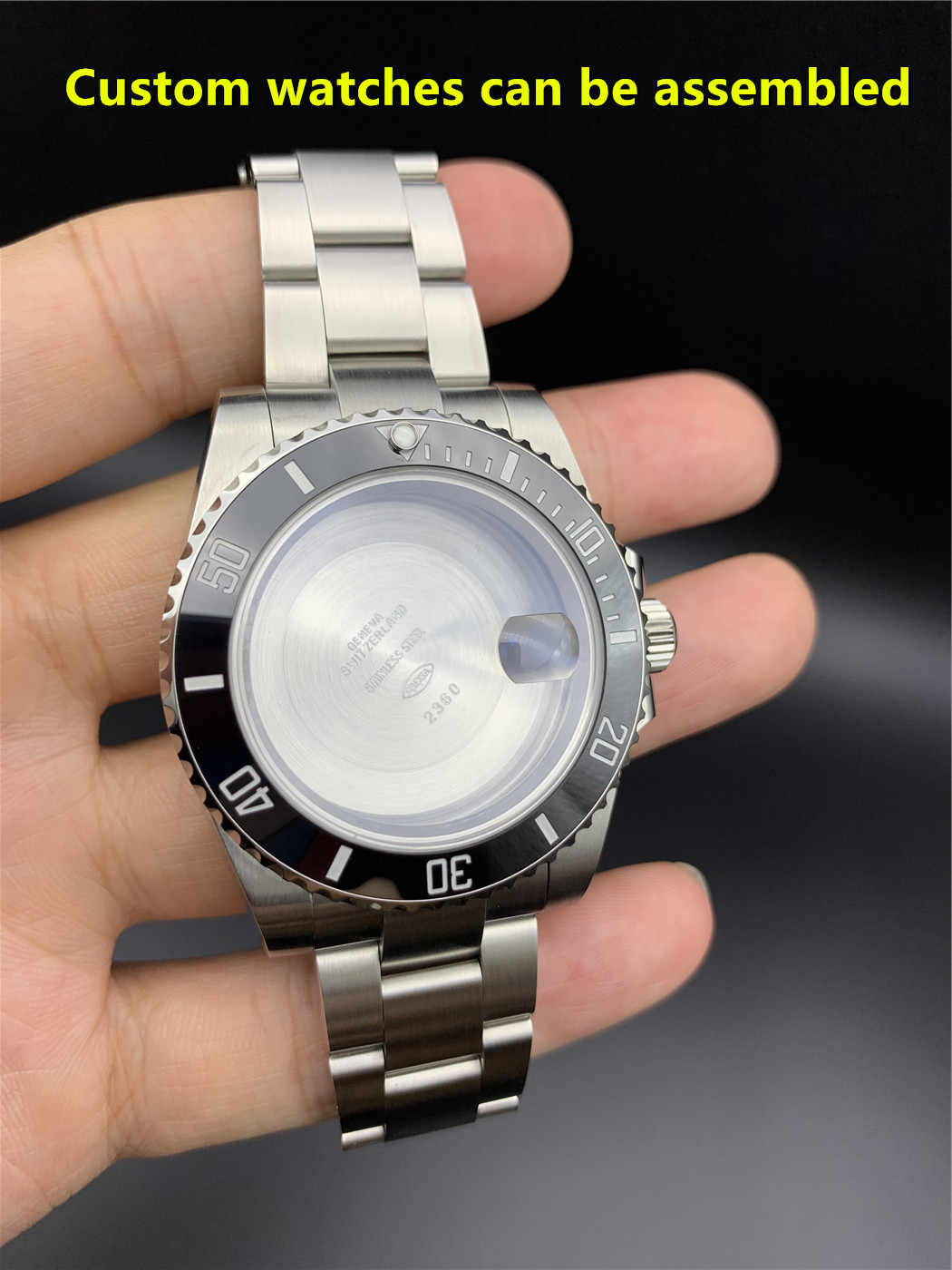 中国クローン RLX 3135 ムーブメント自動機械式時計のムーブメントブルーバランス