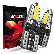 KXJX 12 шт. 194 светодиодный светильник лампы 6000K белый, 168 W5W T10 светодиодный для интерьерные лампочки автомобиля Купол Карта логотив для дверей с...