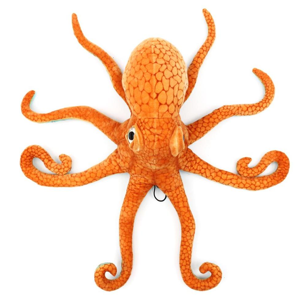 ainy 80cm grande engracado bonito polvo lula pelucia animal macio brinquedo boneca travesseiro decoracao presente