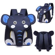 Toddler Backpack Schoolbag Elephant Animal-Designer Children Girls Kids Cute for 3D Boys