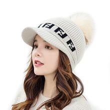 Женская зимняя плюшевая шапка sparsil большие шерстяные шапочки