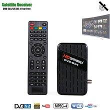 Hdopenbox receptor de tv satélite dvb s2 sintonizador receptor suporte h.264 wifi atualização em linha receptor de satélite pvr ca 1080p 3g