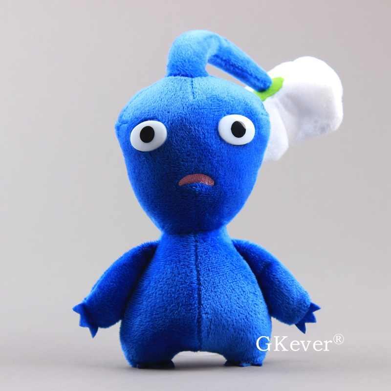 23cm Blue Pikmin Plush Doll Toys Kawaii Captain Olimar Bulborb