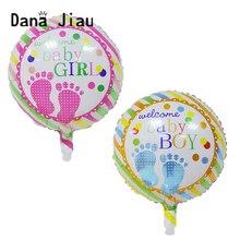 Гелиевый шар для маленьких мальчиков и девочек, 18 дюймов